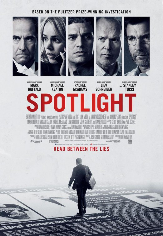 Spotlight Marquee Poster