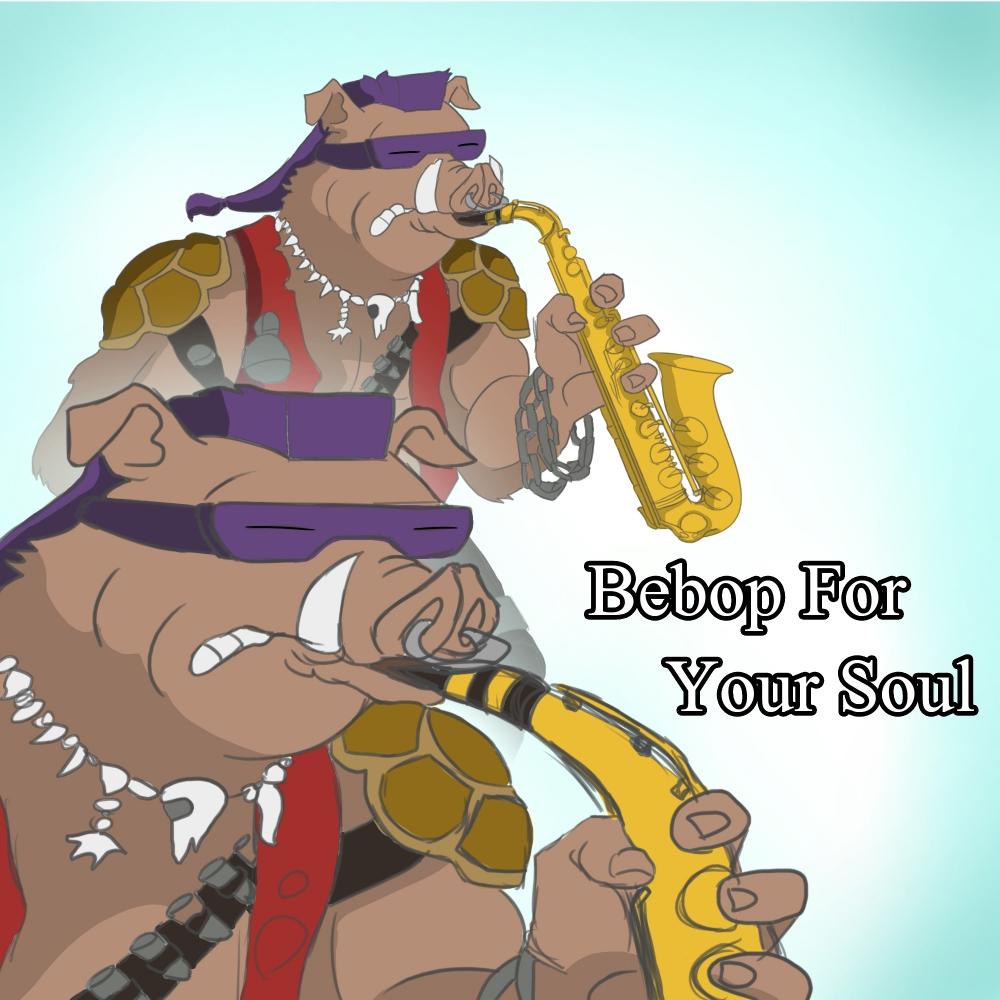 TMNT Bebop Saxophone