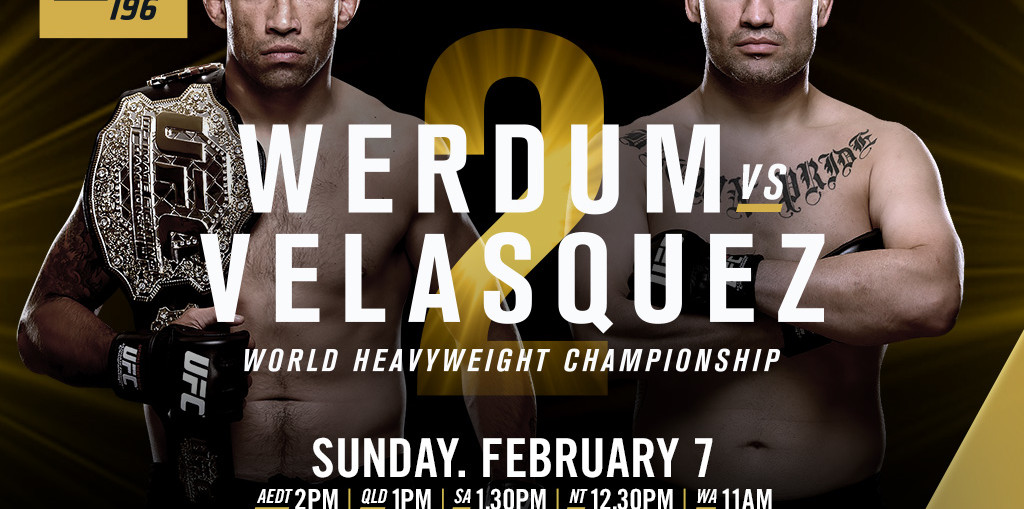 Ufc 196 Thoughts and predictions
