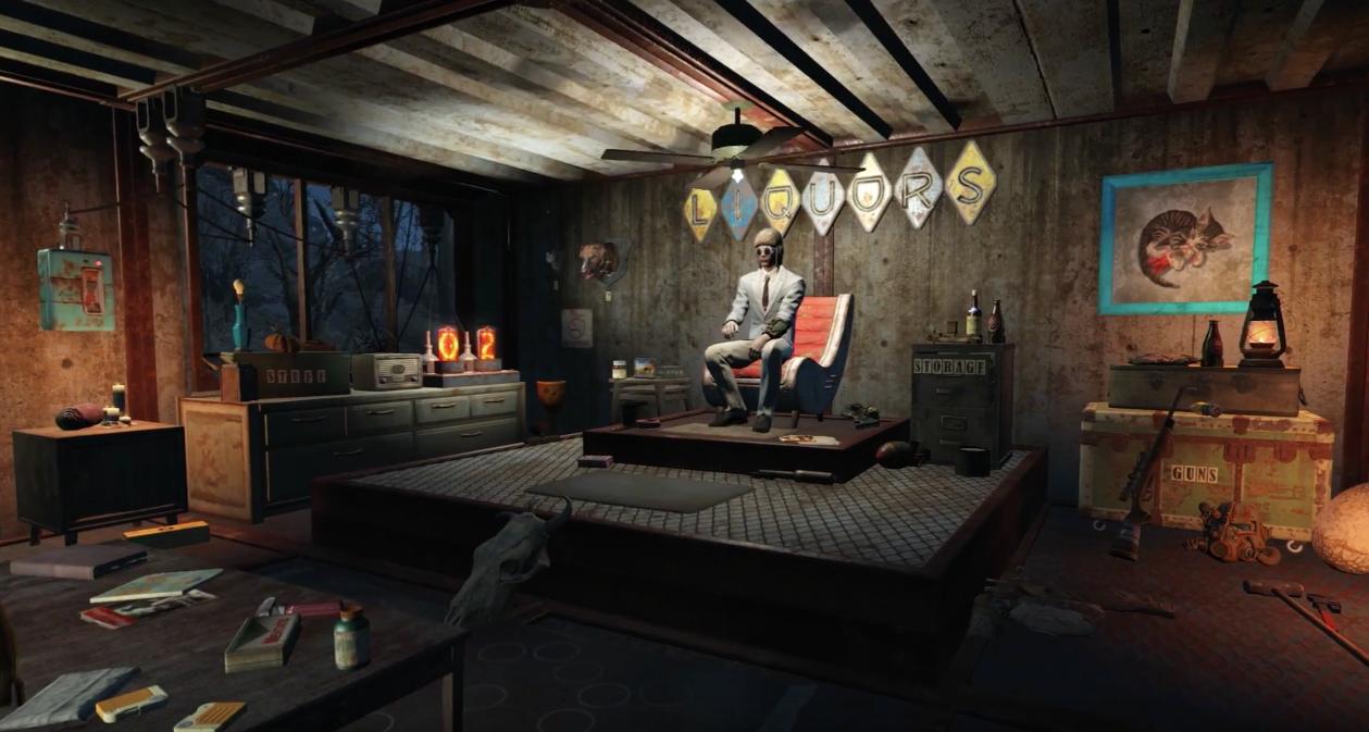 Fallout 4 Wasteland Workshop Trailer header