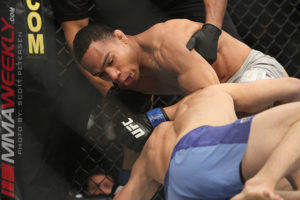 Dodson knocked out former champ TJ Dillashaw in his last bantamweight fight