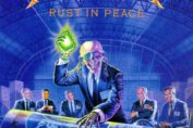 megadeth, rust in peace album cover