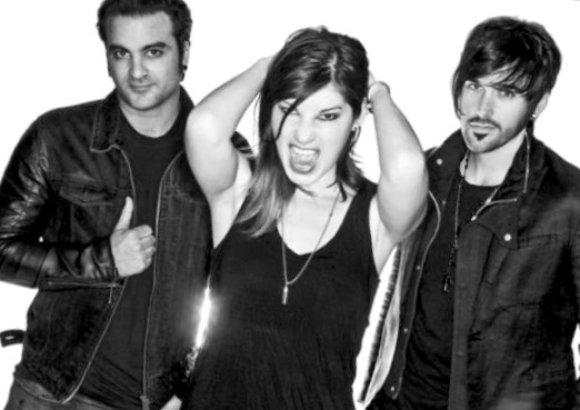 Emma Anzai and the rest of The Sick Puppies