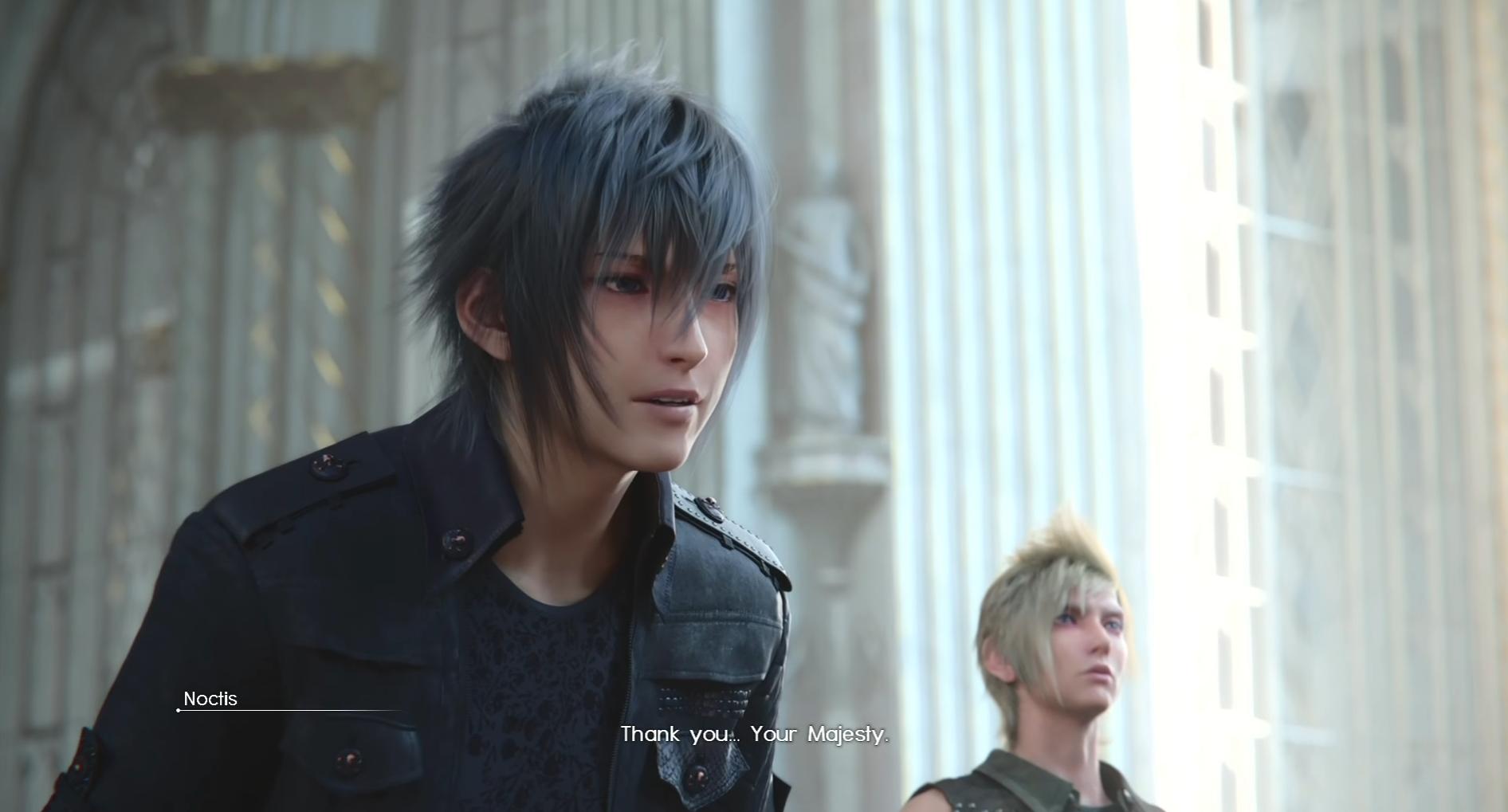 Noctis Lucis Caelum Throne Final Fantasy XV: Afte...