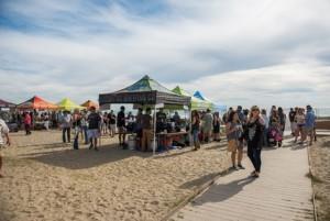 Driftwood Festival 2016 beach boardwalk