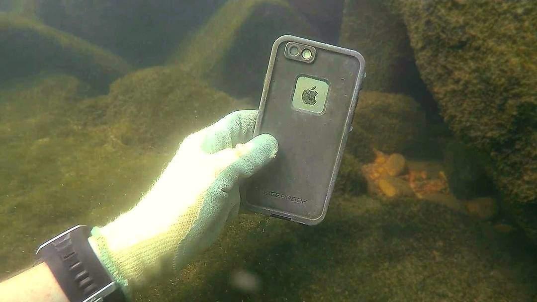 River Treasure hunter brings new interest to exploring underwater
