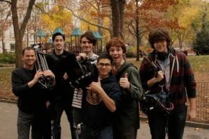 VelociPastor film crew