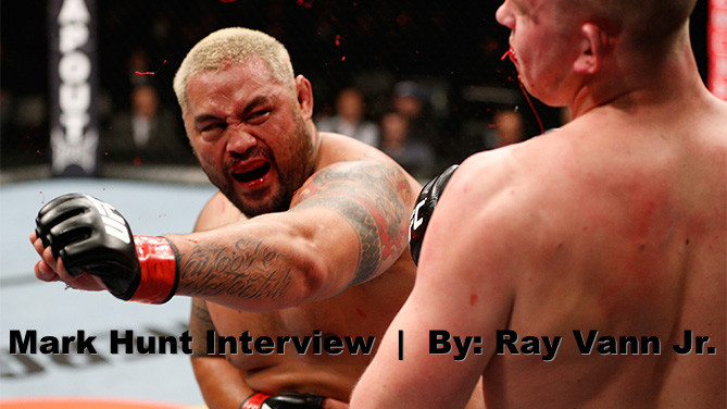 Mark Hunt Interview