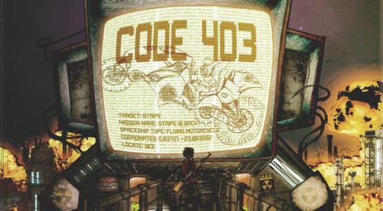 Jack Maniak, Code 403 album cover