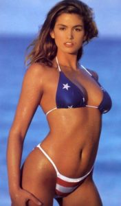 Cindy Crawford, 90's, swimsuit